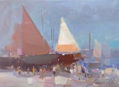 Sail Boats Print on Canvas