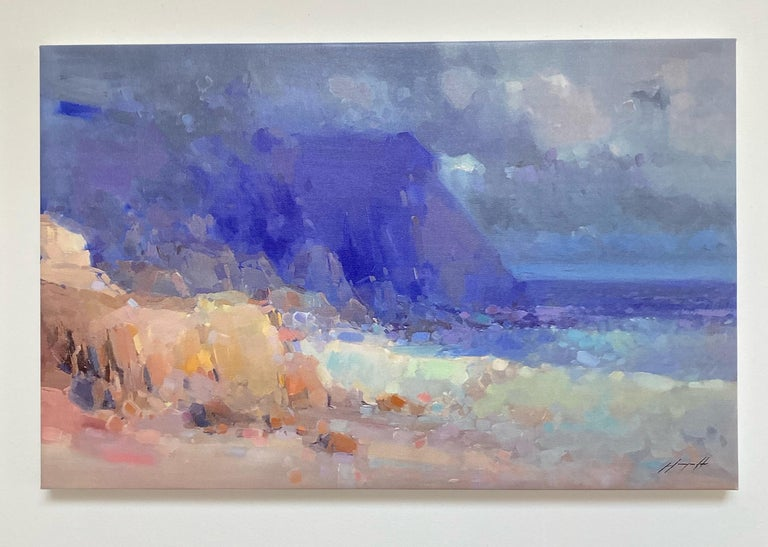 Seashore, Print on Canvas - Painting by Vahe Yeremyan