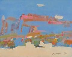 Sedona at Noon, Original Oil Painting, Handmade Artwork