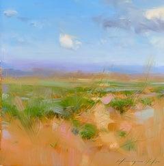 Sedona Desert, Original Oil Painting, Handmade Artwork