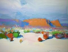 Sedona View, Original oil Painting, Ready to Hang