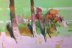 Spring Motive, Original oil Painting, Painting, Oil on Canvas