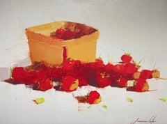 Strawberries, Print on Canvas
