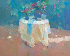 Summer Morning, Original oil Painting, Ready to Hang