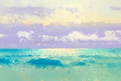 Turquoise Ocean, Original oil Painting, Ready to Hang