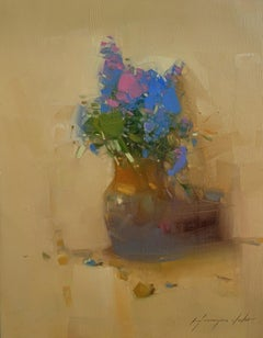 Vase of Flowers, Original oil Painting, Ready to Hang