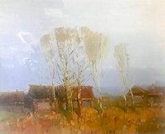 Village, Print on Canvas