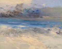 Waves, Original Oil Painting, Handmade Artwork