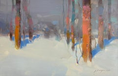 Winter, Original oil Painting, Ready to Hang
