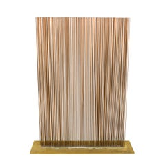 Val Bertoia Linear Four-Row Copper and Brass Sonambient Sculpture, USA, 2018