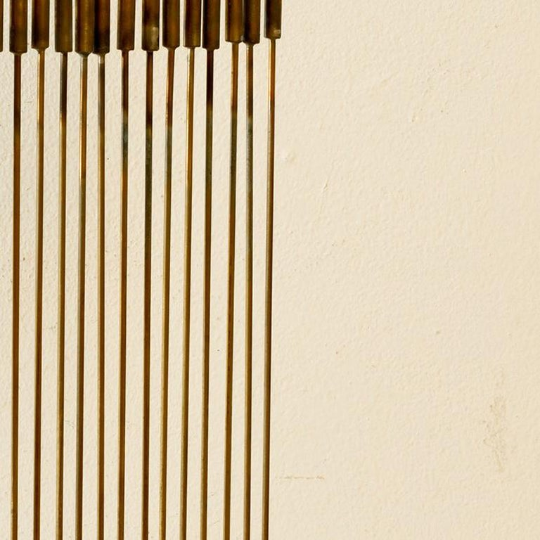 24 Cat-Tails Rods - Abstract Sculpture by Val Bertoia