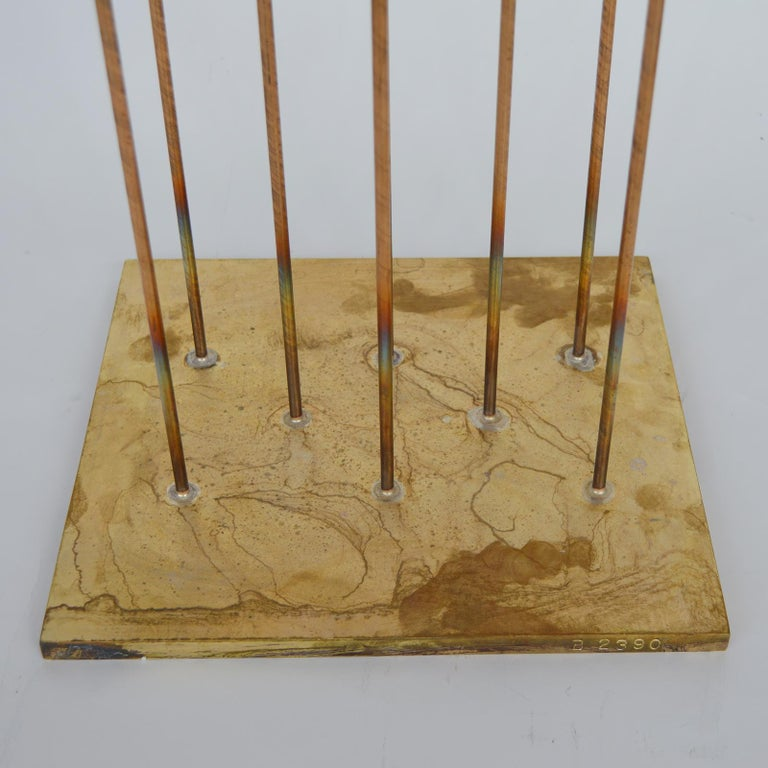 Val Bertoia sounding sculpture B2390. Bronze and Brass. United States / 20th century.