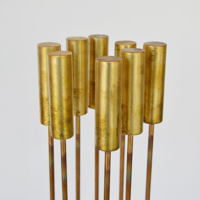 Val Bertoia sounding sculpture B2398. Bronze and brass. United States / 20th century.