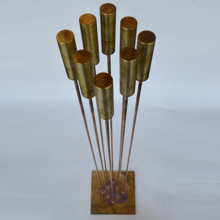 Brass Val Bertoia Sounding Sculpture B2398, 20th Century For Sale