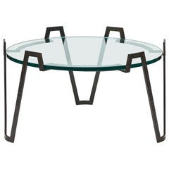 'Val D'Or' Coffee Table in the Style of Jean Royère