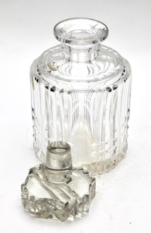 Val Saint Lambert Crystal Vase, Belgium in Excellent Condition, 1950s For Sale 7