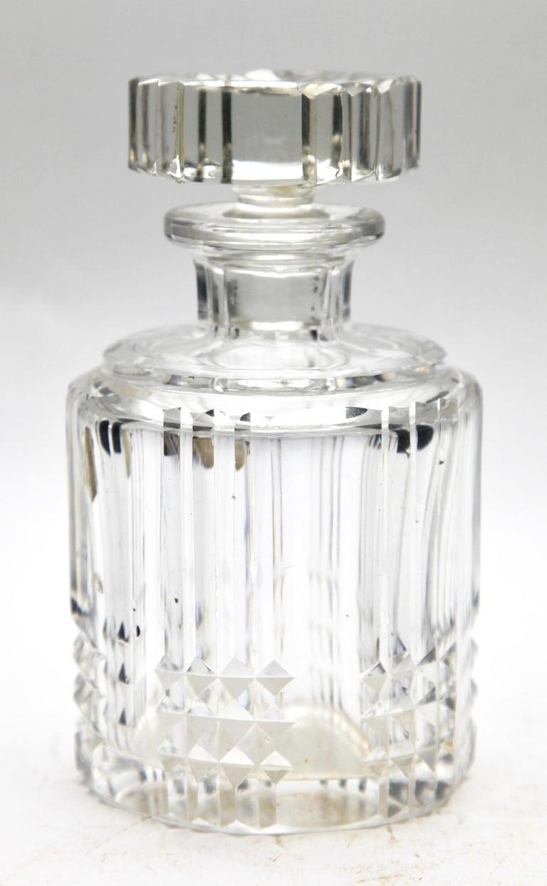 Val Saint Lambert Crystal Vase, Belgium in Excellent Condition, 1950s For Sale 11