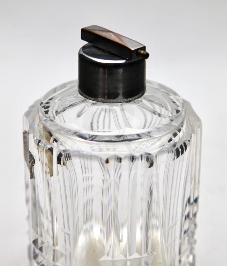 Belgian Val Saint Lambert Crystal Vase, Belgium in Excellent Condition, 1950s For Sale