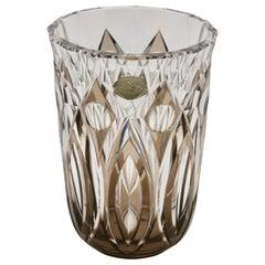 Val Saint Lambert Crystal Vase Charles Graffart Cut-to-Clear