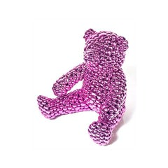 Magenta Teddy Bear