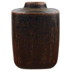 Valdemar Pedersen for Bing & Grøndahl, Vase in Glazed Stoneware, 1960s