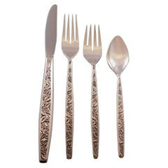 Valencia by International Sterling Silver Flatware Set for 12 Service 55 Pieces