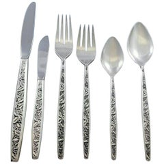 Valencia by International Sterling Silver Flatware Set for 12 Service 72 Pieces