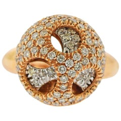 Valente Diamond Rose Gold Ring