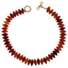 Valentin Magro Agate Slice Necklace