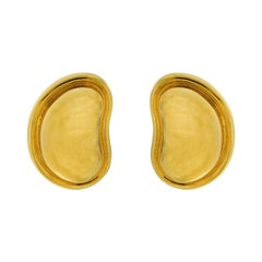 Valentin Magro All Gold Bean Earrings 'Larger Version'
