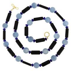 Lapis Lazuli Beaded Necklaces
