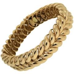Valentin Magro Bespoke Gold Rope Bracelet
