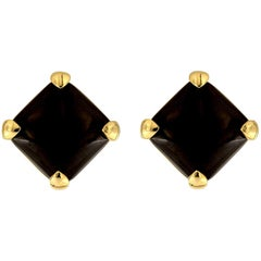 Valentin Magro Black Jade Earrings
