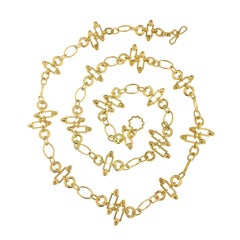 Valentin Magro Bullet Shaped Stones Chain Necklace