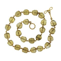Valentin Magro Carina Citrine Necklace