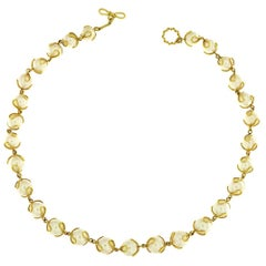 Valentin Magro Carina Fresh Water Pearl Gold Necklace