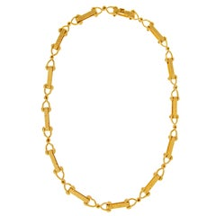 Valentin Magro Cleat Gold Necklace