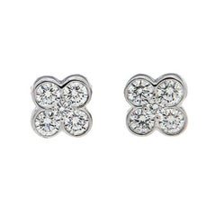 Valentin Magro Clover Diamond Earrings