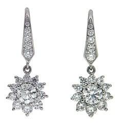 Valentin Magro Cluster Diamond Earring Drops