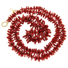 Valentin Magro Coral Branch Necklace