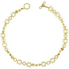 Valentin Magro Cube Strand Short Necklace