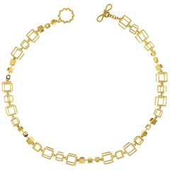 Valentin Magro Cube Strand Short Necklace