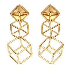 Valentin Magro Cushion Cube Dangling Earrings