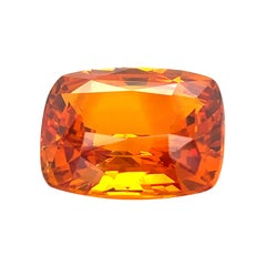 Valentin Magro Cushion Cut Orange Sapphire