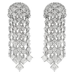 Valentin Magro Diamond Cascading Waterfall Earrings