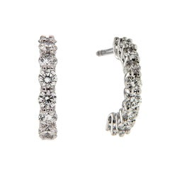 Valentin Magro Diamond Hoop Earrings