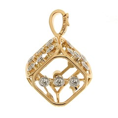 Valentin Magro Diamonds Large Dice Pendant