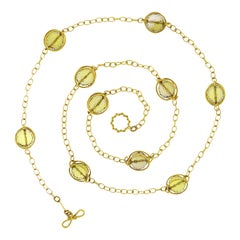 Valentin Magro Doppio Citrine Necklace