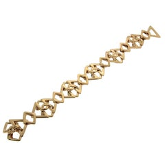 Valentin Magro Flexible Triangle and Cushion Bracelet