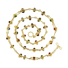 Valentin Magro Floating Gemstone Necklace
